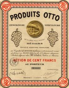 Produits Otto, Oenologie Viticulture
