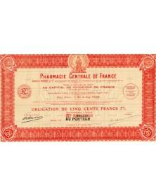 Pharmacie Centrale de France