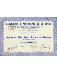 Savonnerie & Parfumerie de la Sèvre (Anc. Ets Maurice Bertin & Cie)
