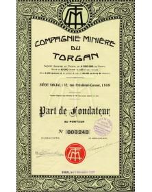Cie Minière du Torgan