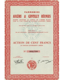 Tanneries Augère & Gentilly réunies