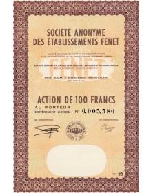 S.A. des Ets Fenet (matériel agricole)