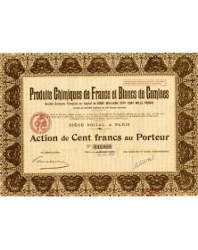 Produits Chimiques de France et Blancs de Comines