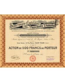 Sté Française d'Exploitation des Procédés Doernen