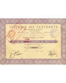 Tuilerie des Tarterets Gilardoni Frères