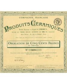 Cie Française de Produits Céramiques