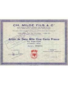 Ch. Mildé Fils & Cie