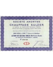 S.A. Chauffage Sulzer
