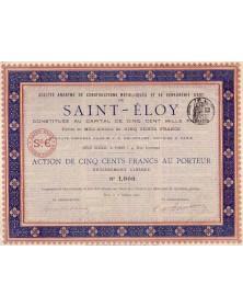 S.A. des Constructions Métalliques et de Serrurerie d'Art de Saint-Eloy
