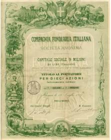 Cie Foncière Italienne - Compagnia Fondiaria Italiana