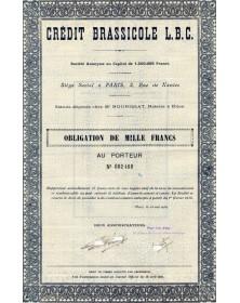 Crédit  Brassicole  L.B.C