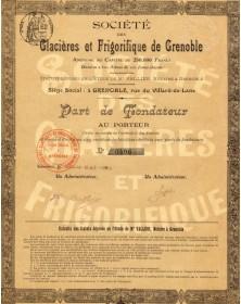Sté des Glacières et Frigorifique de Grenoble