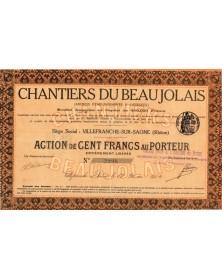 Chantiers du Beaujolais