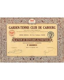 Garden-Tennis Club de Cabourg