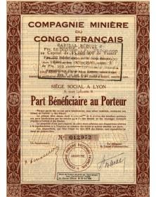 Compagnie Minière du Congo Français Lyon