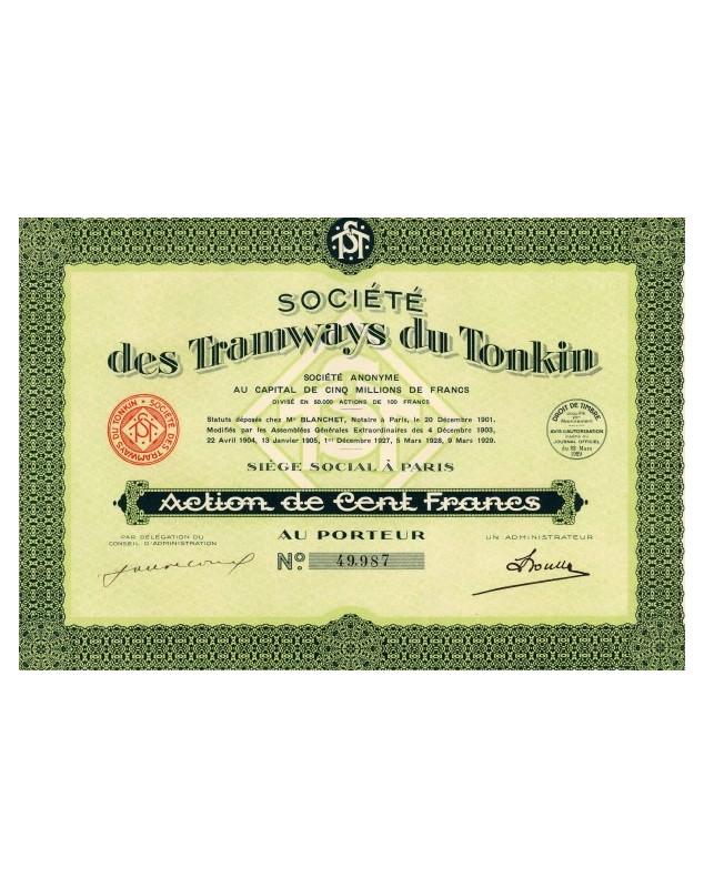 Sté des Tramways du Tonkin