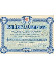 Distilleries '' La Charentonne ''