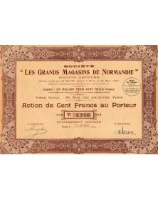 """Sté -Les Grands Magasins de Normandie-"""""""""""