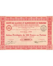 Sté des Glacières et Blanchisseries de Normandie