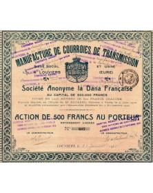 Manufacture de Courroies de Transmission S.A. La Dana Française