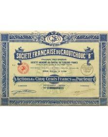 Industries/Rubber Sté Française du Caoutchouc ''B'' (Procédés Ballandras)
