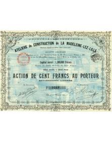 Ateliers de Construction de la Madeleine-lez-Lille (Anciens Ets Paul Gaillet)