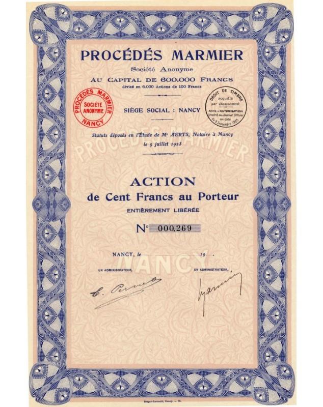 Procédés Marmier