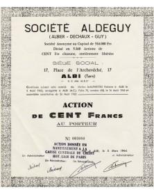 Sé Aldeguy (Albier - Dechaux - Guy)
