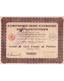 Cie Indo-chinoise de Plantations