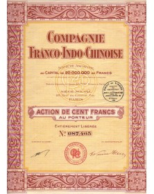 Cie Franco-Indo-Chinoise