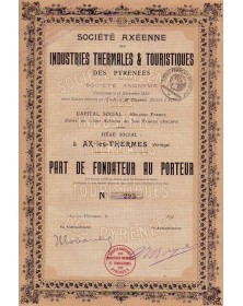 Industries Thermales & Touristiques des Pyrénées