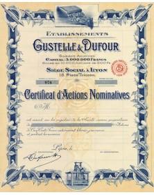 Ets Gustelle & Dufour (Textile)