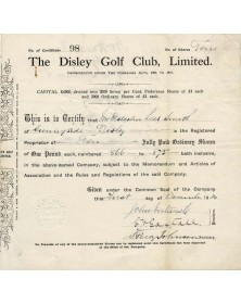 The Disley Golf Club Ltd