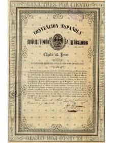 Convencion Española - Bono Del Tesoro