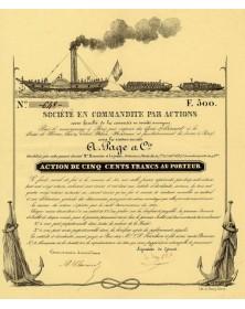 Société pour le Remorquage à Paris par vapeur, A. Page & Cie 1937
