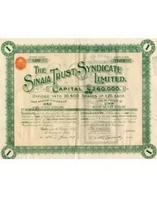 The Sinaia Trust Syndicate Ltd