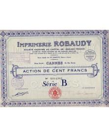 S.A. Imprimerie Robaudy