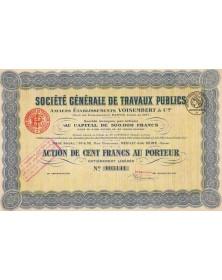 Sté Générale de Travaux Publics. Anciens Ets Voisembert & Cie