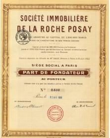 Sté Immobilière de la Roche Posay