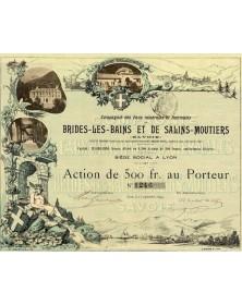 Cie des Eaux Minérales et Thermales de Brides-Les-Bains & de Salins-Moutiers
