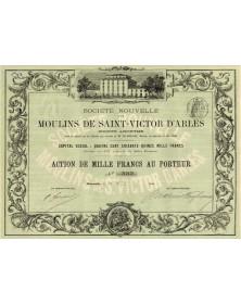 Sté Nouvelle des Moulins de St-Victor d'Arles