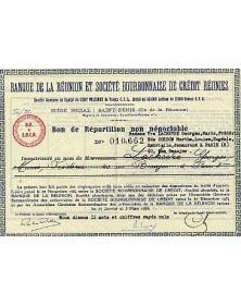 Banque de la Réunion Bourbonnaise de Crédit Réunies