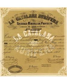 La Catalana Aurifèrea, Sociedad Minera en Proyecto