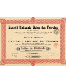 Sté Nationale Belge des Pétroles