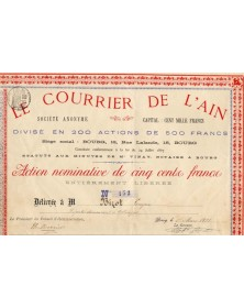 Le Courrier de l'Ain