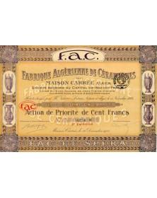 Fabrique Algérienne de Céramiques - F.A.C.