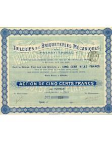 Tuileries et Briqueteries Mécaniques de Colbey-Epinal