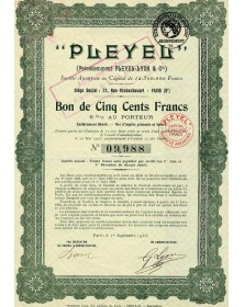 Pleyel (anc. Pleyel-Lyon & Cie)