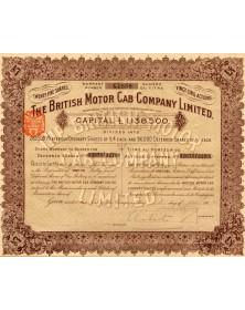 The British Motor Cab Company Ltd