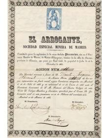 El Arrogante, Soc. Especial Minera de Madrid